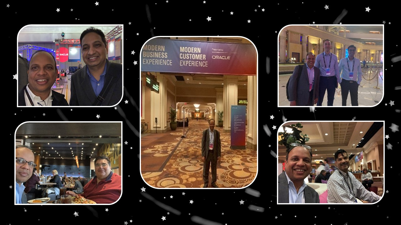 Cerebra Consulting Inc at Oracle Modern Customer Experience Conference in Las Vegas Nevada