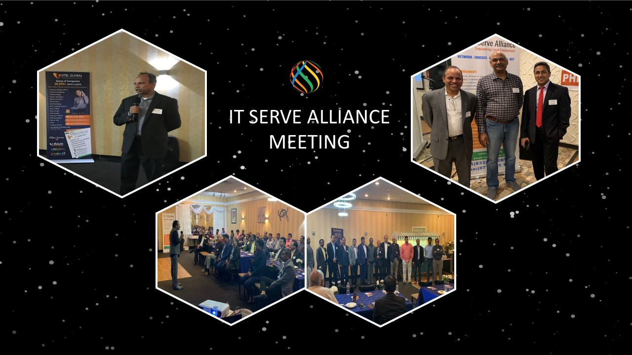 Siva Pola, Cerebra Consulting Inc CEO speaks at ITServe Alliance Meeting